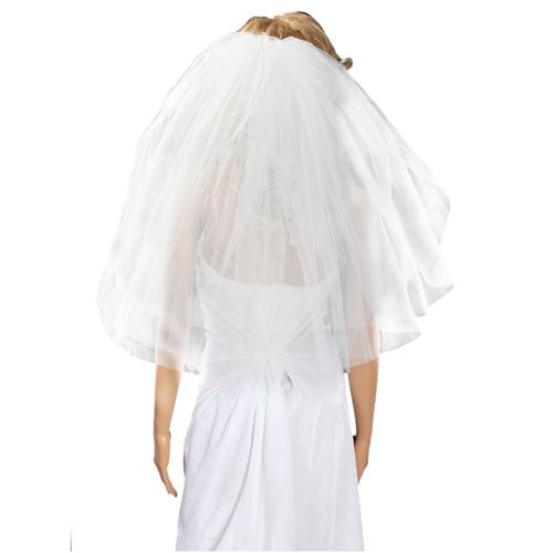 4 řadý svatební závoj - slonová kost - plesové šaty 6bdf41f499
