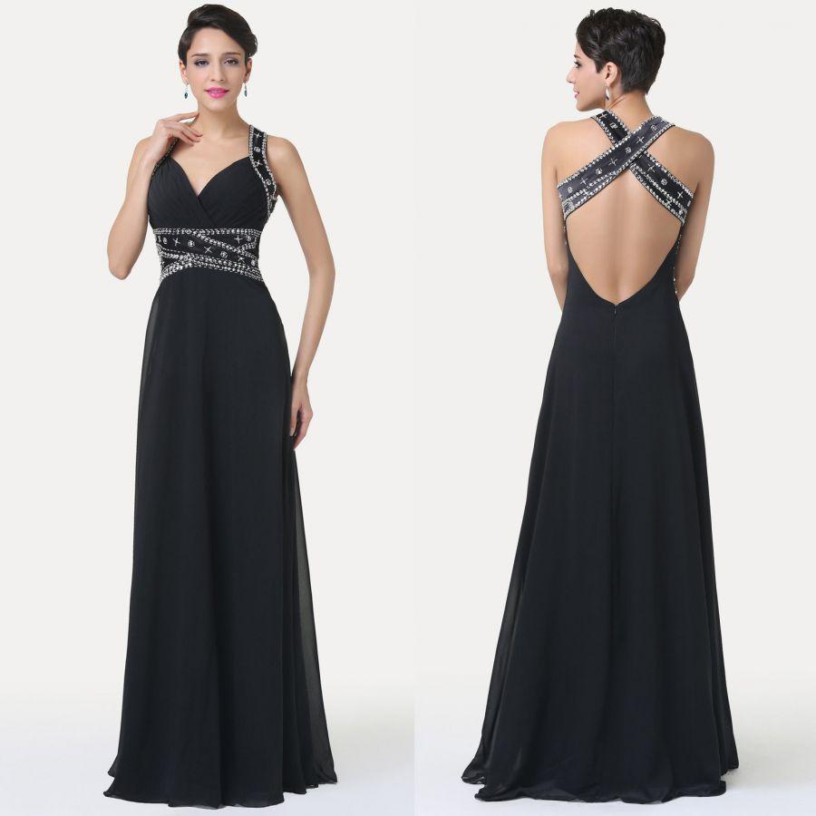 černé sexy dlouhé večerní společenské šaty. společenské šaty » skladem »  XS-S · společenské šaty » skladem » do 4000Kč · společenské šaty » skladem  » černá faead014ca5