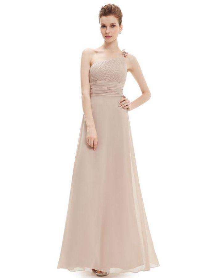 champagne pudrové šifonové společenské šaty. společenské šaty » skladem »  XL-XXL · společenské šaty » skladem » do 4000Kč 8e0d7121bea