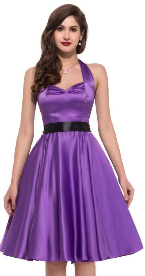 cb0fc861caee společenské šaty » krátké společenské » krátké skladem » krátké fialové