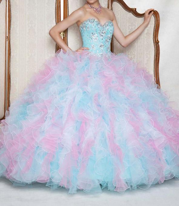 3067458a424e ombre plesové šaty na maturitní ples modré. plesové šaty » p na objednání »  princeznovské