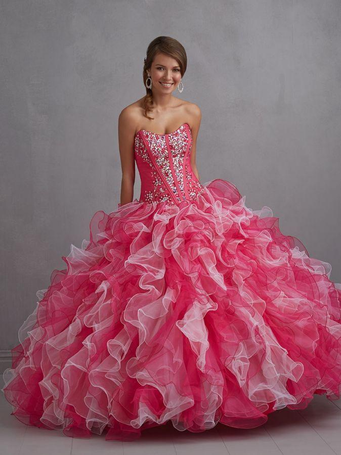 ... maturitní ples růžovobílé. plesové šaty » p na objednání » princeznovské 4c0844f2dad