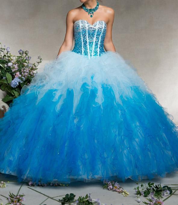 ee1dd617541a ... maturitní ples ombre modré. plesové šaty » p na objednání »  princeznovské
