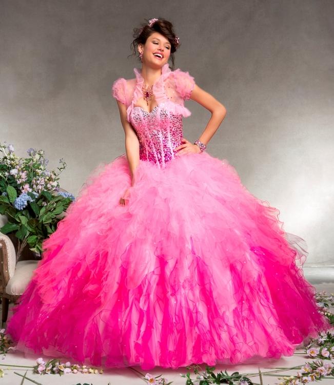 62744112bd8b ... maturitní ples ombre růžové. plesové šaty » p na objednání »  princeznovské