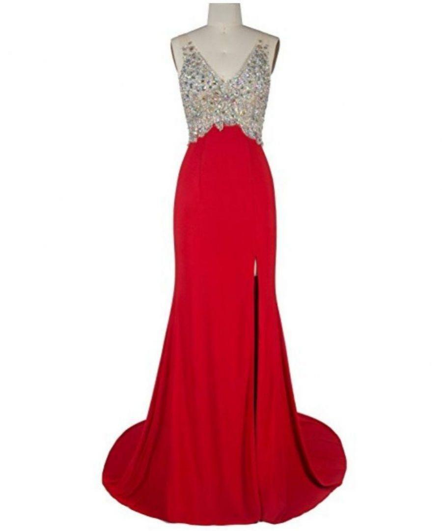 ce0503cd3325 sexy červené společenské šaty s rozparkem a holými zády plesové. plesové  šaty » skladem plesové » M-L p · plesové šaty » skladem plesové » nad 5000Kč
