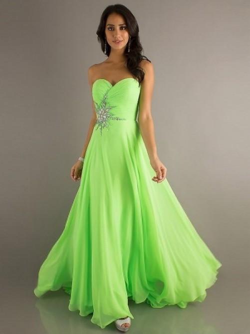 zelené společenské šaty na maturitní - 48.2KB